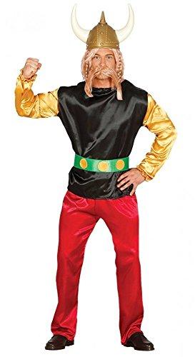 Gallier HERREN Kostüm inklusive Helm Shirt Hose Gürtel Comic, - Asterix Kostüm