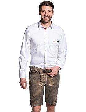 Michaelax-Fashion-Trade Spieth & Wensky - Herren Trachten Lederhose mit Gürtel, Adonis (241675-0709)