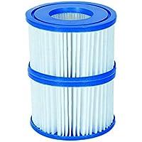 Cartucho de filtro de Bestway Flowclear–tamaño VI para Lay-Z-Spa Miami, Vegas, Palm Springs, Mónaco