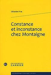 Constance et inconstance chez Montaigne