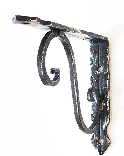 Schmiedeeisengestell - Regalunterstützung 3462-105-S-PA
