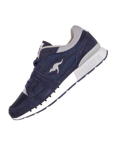 Kangaroos Coil R1 Basic, Baskets mode homme - blau / weiß / grau