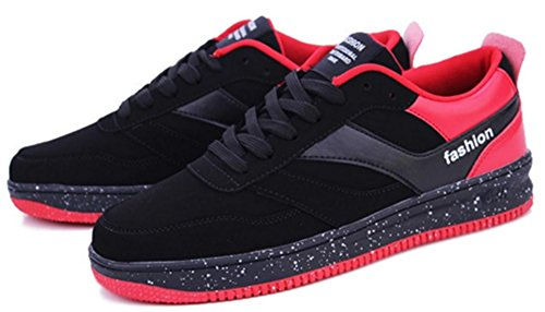 DADAWEN Chaussures de Running Entrainement Mixte Adulte/Baskets mode mixte adulte Rouge