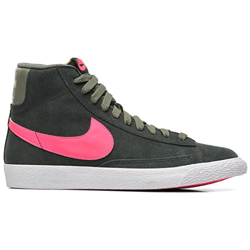 NikeBlazer Mid Vintage (GS) - Sneaker alta Bambina Verde - verde