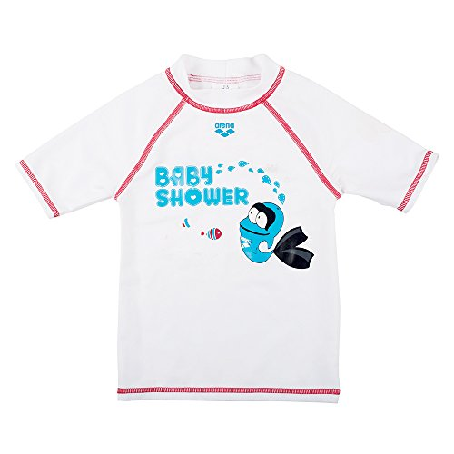 Arena Water Tribe UV T Shirt, bianco, 8/9ans