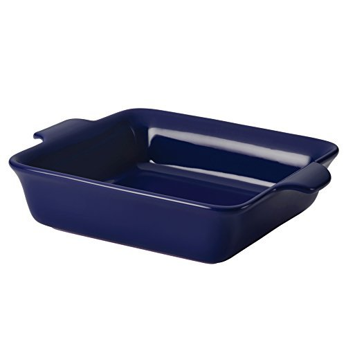Anolon Vesta Stoneware 9-Inch Square Baker, Baltic Blue by Anolon - Blue Square Baker