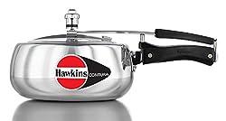 Hawkins Contura Aluminum Pressure Cooker, 3.5 Litres