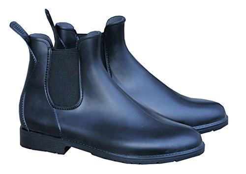 PVC Stiefelette Cardiff schwarz, Elastikeinsatz | Stiefeletten für Kinder PVC Stiefelette, Jodhpurstiefelette, Reitstiefelette, PVC Reitstiefelette, Halbstiefel, Rubber Boots