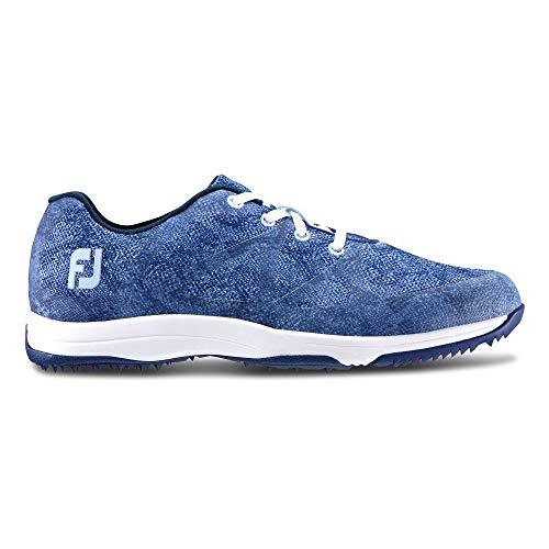 Foot Joy Fj Leisure, Chaussures de Golf Homme, Bleu (Azul...