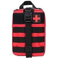 Jacobssen Outdoor Reise Verbandskasten Taktische Hüfttasche Camping Tasche Notfall Fall (Farbe: rot) (Größe :) preisvergleich bei billige-tabletten.eu
