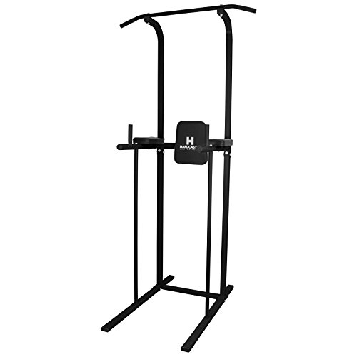 Hardcastle - Power tower per pull up e dip - Nero