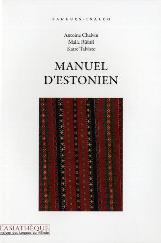 Manuel d'estonien + 1CD MP3