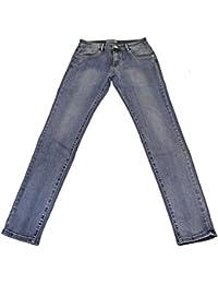 Pantalon Jeans Femme 5 poches Taille Haute Très Extensible et Confortable Pierre-cedric !