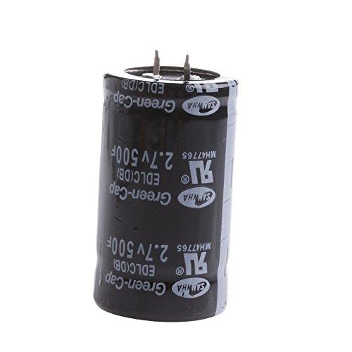 Yintiod 1PC Farad Kondensator 2.7V 500F 35 * 60MM Superkondensator (Fan Ac 60mm)