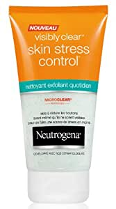 Neutrogena - Visibly Clear Skin - Stress Control Nettoyant Exfoliant - Tube 150 ml