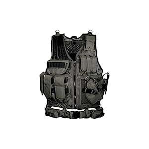 UTG Taktische Weste 547 Law Enforcement, Schwarz, One size, PVC-V547BT