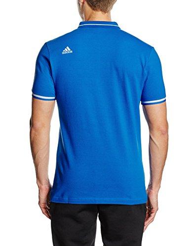 adidas Herren Polohemd Olympique Marseille EU Polo 2015-2016 Blue/Dkblue
