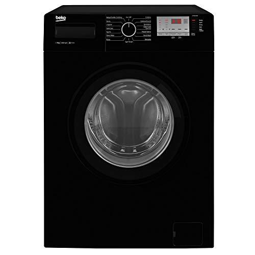 Beko WTG841M2B 8kg 1400rpm Freestanding Washing Machine - Black