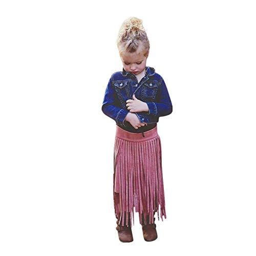 Mädchen Bowknot Spitze Prinzessin Rock Sommer Pailletten Kleider für Baby Kleinkinder Kinder 0-5 Jahre HEVÜY (Für Kleinkinder Halloween-kostüme 2019)