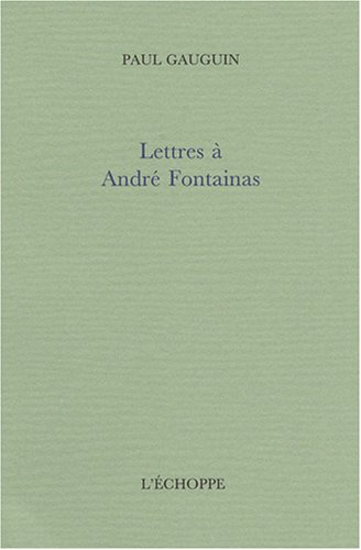 Lettres  Andr Fontainas