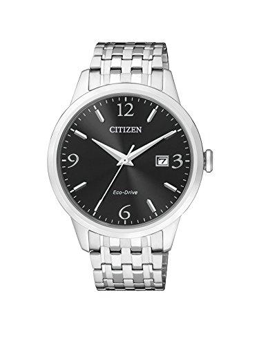 Citizen Herren-Armbanduhr Analog Quarz Edelstahl BM7300-50E