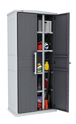 Preisvergleich Produktbild Keter Aufbewahrungsschrank Optima Wonder Cabinet Tall,  grau