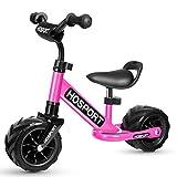 HOSPORT Biciclette Senza Pedali Bilancia da Allenamento per Bambini dai 18 Mesi ai 3,5 Anni (Rosa)