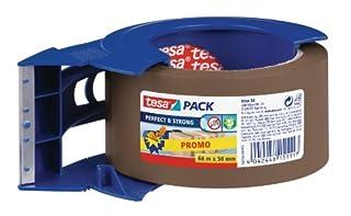 Tesa 58148-00000-00 Perfect & Strong - Cinta adhesiva y portarrollos (66 m, 50 mm), color marrón (B0053XWNLI) | Amazon Products