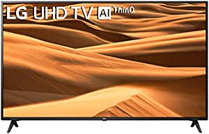 LG 126 cm (50 inches) 4K Ultra HD Smart LED TV 50UM7290PTD (Ceramic BK + Dark Steel Silver) (2019 Model)