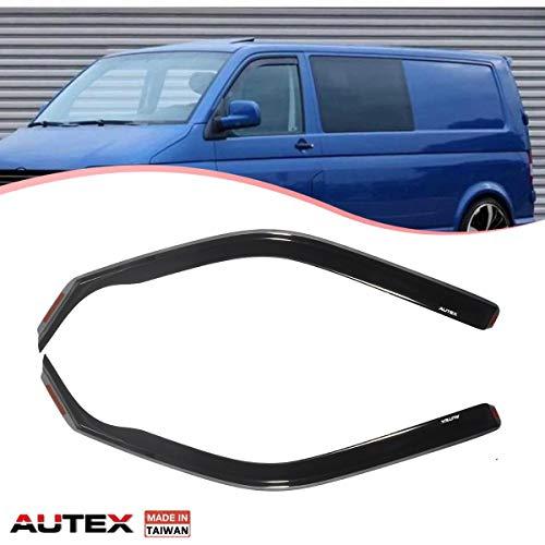 Autex 2PCS VW02 Windabweiser Profi vorne