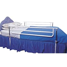Homecraft Castle Adjustable Cot Sides, Two Sides, Adjustable Bed Rails for Safety and Fall Prevention, Bed Rails for Children, Elderly, and Handicapped Individuals, Easily Moved Safety Rail