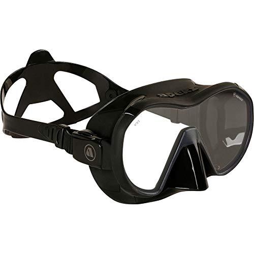 Apeks VX 1 Pure Clear - Tauchmaske mit Ultra Clear Glas, Farbe:schwarz -