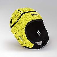 Rhino - Protector de Cabeza para Unisex, Color Amarillo Fluorescente, Talla M