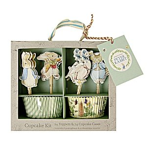 Peter Rabbit Friends &-Kit per Cupcake