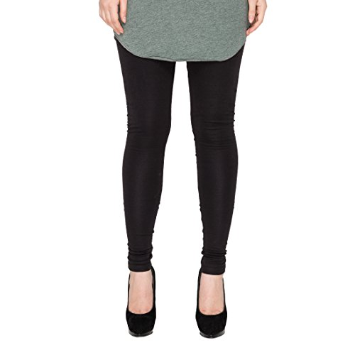Rann Women's Cotton Legging (LegLycBlack_Black_XXXX-Large)