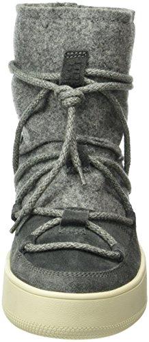 Napapijri Nova, Bottes courtes avec doublure chaude femme Gris - Grau (Dark Grey N88)