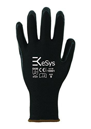 12 Paar EKeSyS Nitril Montage-Handschuhe 10001 Gr. 9