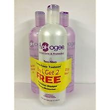 Aphogee Two-Step Protein Treatment, Balancing Moisturizer, Deep Moisture Shampoo Stop
