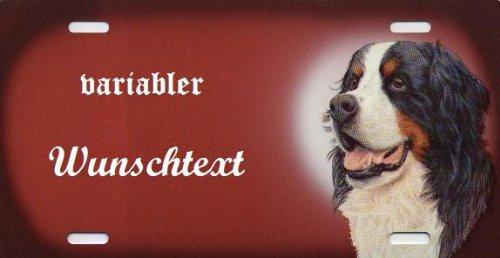 Hundeschilder selbst gestalten Berner Sennen - Hundewarnschilder