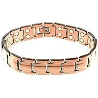 Sonder GÜNSTIGER Einleitende Preis Herren, Damen, Unisex schwer Kupfer Magnet Armband Verschluss 42 leistungsstark... preisvergleich bei billige-tabletten.eu