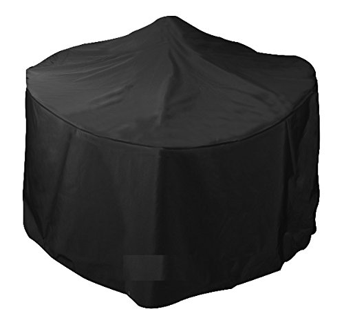 Bosmere Q560 Simply Cover Blackberry (Black) Small Round Fire Pit Cover