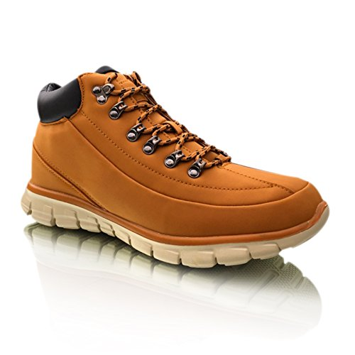 Mens Hiking Walking Trekking Trail Ankle Trainers Boots Shoes Size UK 6...
