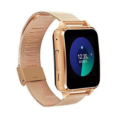 tr uomini tysm88 donna intelligente braccialetto / smartwatch / bluetooth 4.0 mtk2502 / sim / gps / tf di sostegno del sim orologio , silver
