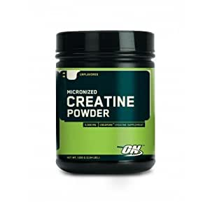 OPTIMUM NUTRITION MICRONIZED CREATINE - 600G - UNFLAVOURED