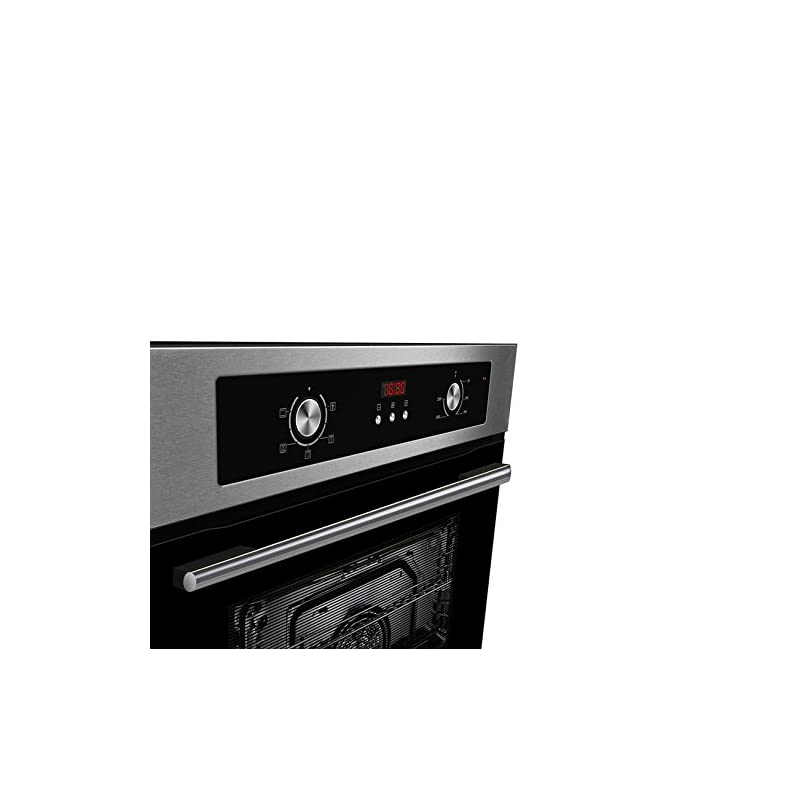 Cookology Built-in Electric Single Fan Oven in Stainless Steel with Programmable Timer & Digital Clock   COF605SS