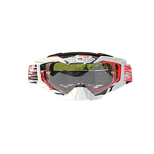 Gnzoe PC Motorradbrillen Fahrradbrille Set Schutzbrillen für Motorrad Fahrrad...