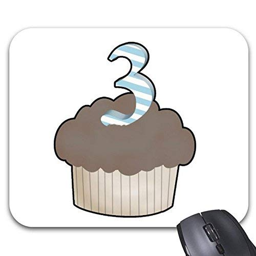 Mouse Pads 3Rd Birthday Cupcake Mouse Mat
