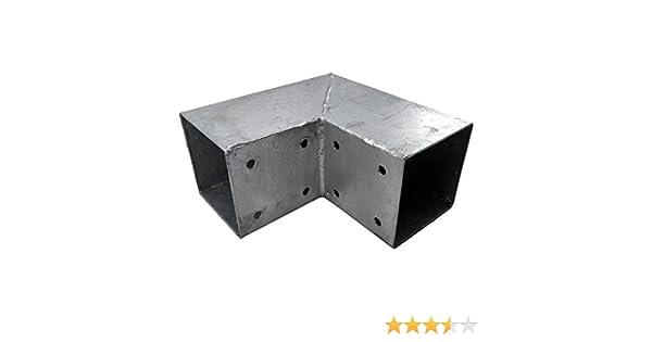 connettore angolare LoggyLand Connettore per legno montanti per travi in legno a 3/X 90/X 90/mm