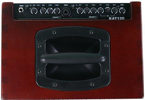 Acustica Amplificatore 2canali con effetti 120Watt max