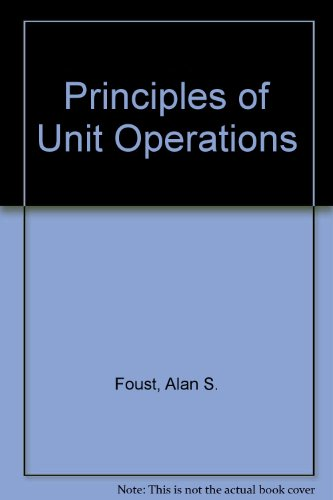 Unit Operations Book
